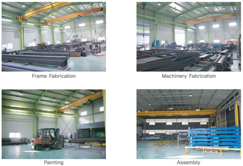 Nhà máy sản xuất bãi đỗ xe xoay vòng đứng SGparking