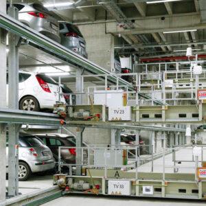Bãi đỗ xe tự động robocar di chuyển từng tầng