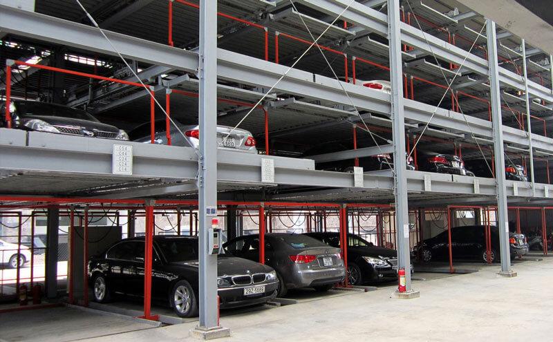 Bãi đỗ xe tự động xếp hình SGparking