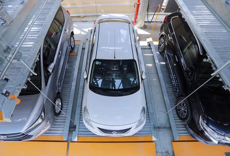 Bãi đỗ xe thông minh mô hình kinh doanh hiệu quả