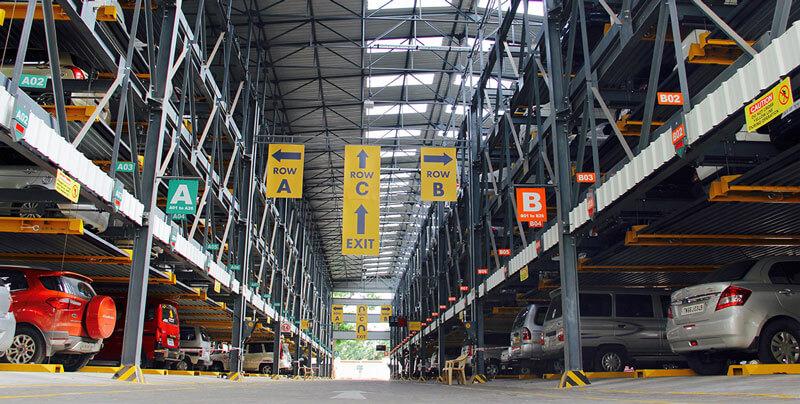 Hệ thống bãi đỗ xe thông minh tự động tại các thành phố lớn