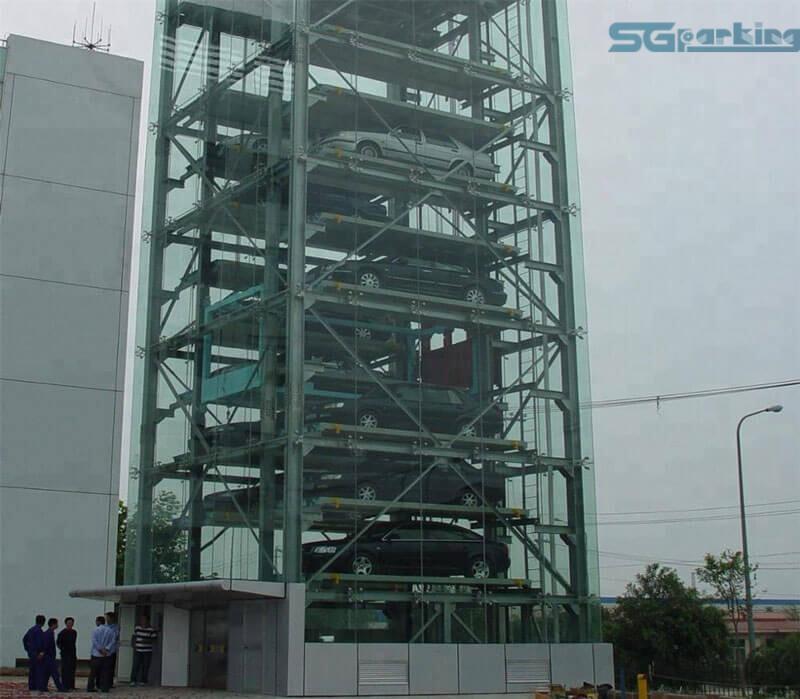 Bãi đỗ xe tự động dạng tháp SGparking