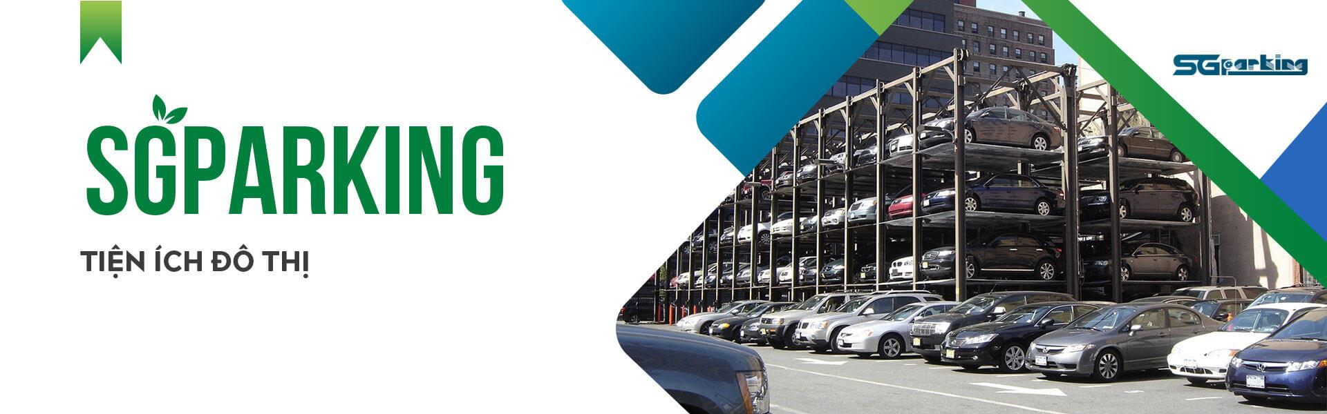 Sài gòn parking nhà cung cấp bãi đỗ xe thông minh