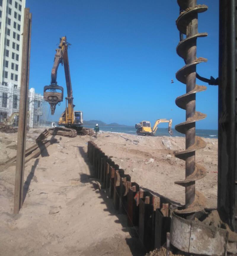 Xây dựng khu nghỉ dưỡng hồ tràm