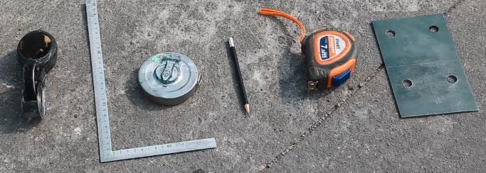 Công cụ dụng cụ sử dụng trong quá trình lắp đặt