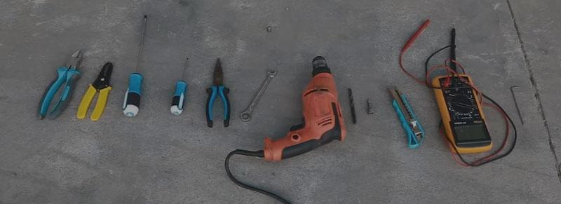 Dụng cụ lắp đặt bãi đỗ xe tự động xếp hình