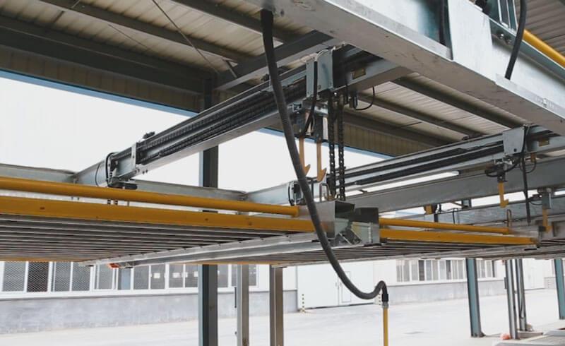 Thi công lắp đặt hoàn thiện hệ thống đỗ xe xếp hình