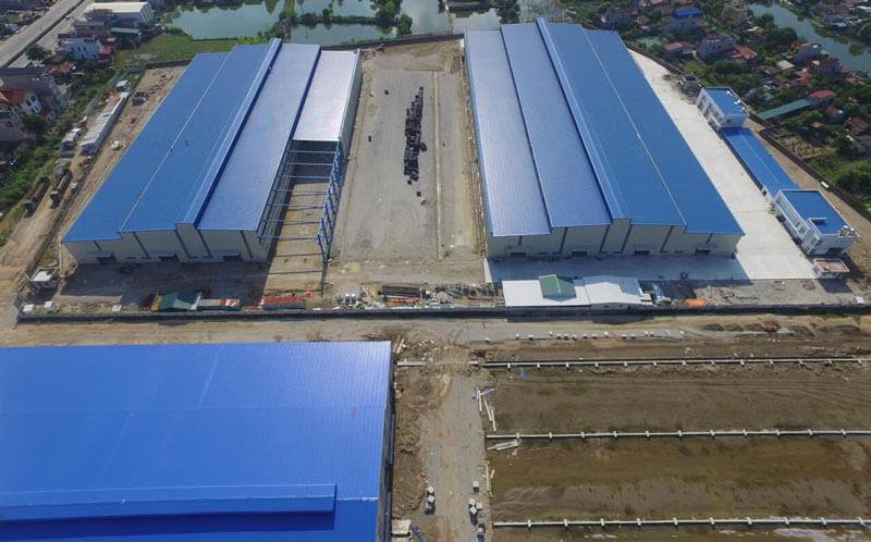 Toàn cảnh nhà máy kết cấu thép