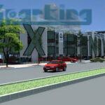 Thiết kế bãi đỗ xe tự động Nguyễn Văn Huyên Cầu Giấy Hà Nội